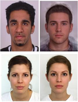 Attractive face test