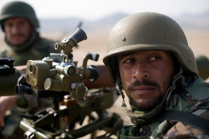 Afghan Soldiers Train On Heavy Weapons
