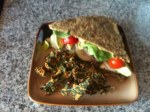Kale Sandwich (Gone Raw)