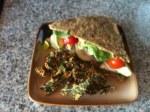 Kale Sandwich (Gone Raw)