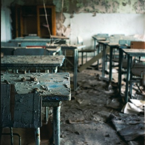 Abandoned school, Pripyat Ukraine