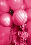 Free Girl Holding Fun Pink Happy Birthday Balloons Creative Commons