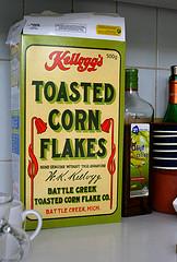 Retro cornflakes