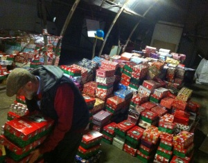 Shoebox appeal 2014